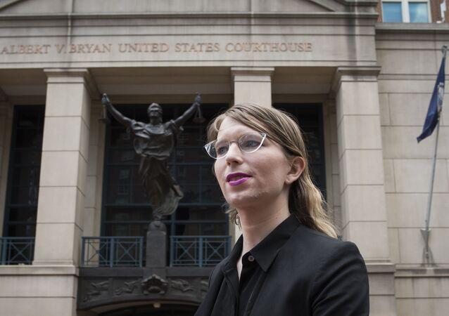 Chelsea Manning, exanalista de inteligencia del Ejército de EEUU