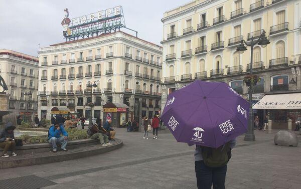 Puerta del Sol, Madrid  - Sputnik Mundo