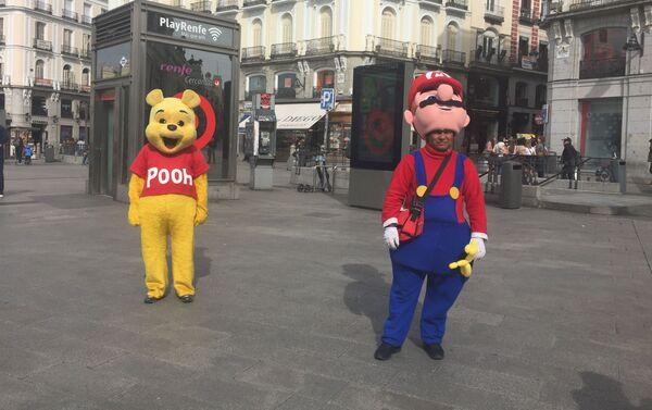 Personajes de la Puerta del Sol, Madrid - Sputnik Mundo