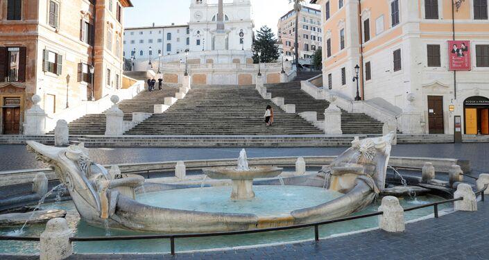 La Plaza de España, Roma