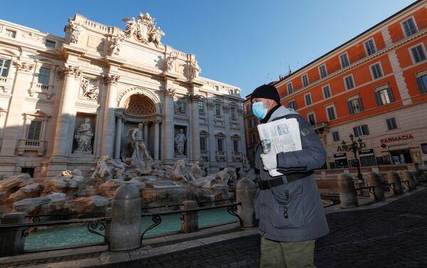 La Fontana de Trevi, Roma - Sputnik Mundo