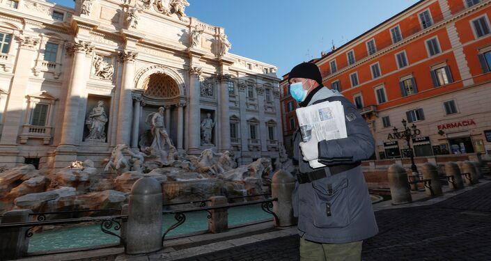 La Fontana de Trevi, Roma