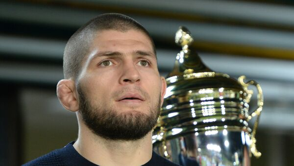 Khabib Nurmagomédov, luchador ruso de MMA - Sputnik Mundo