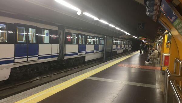 Metro en Madrid  - Sputnik Mundo