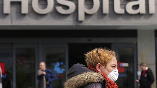 Hospital La Paz en Madrid, España - Sputnik Mundo