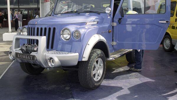 Un automóvil kombat del fabricante ruso GAZ (archivo) - Sputnik Mundo