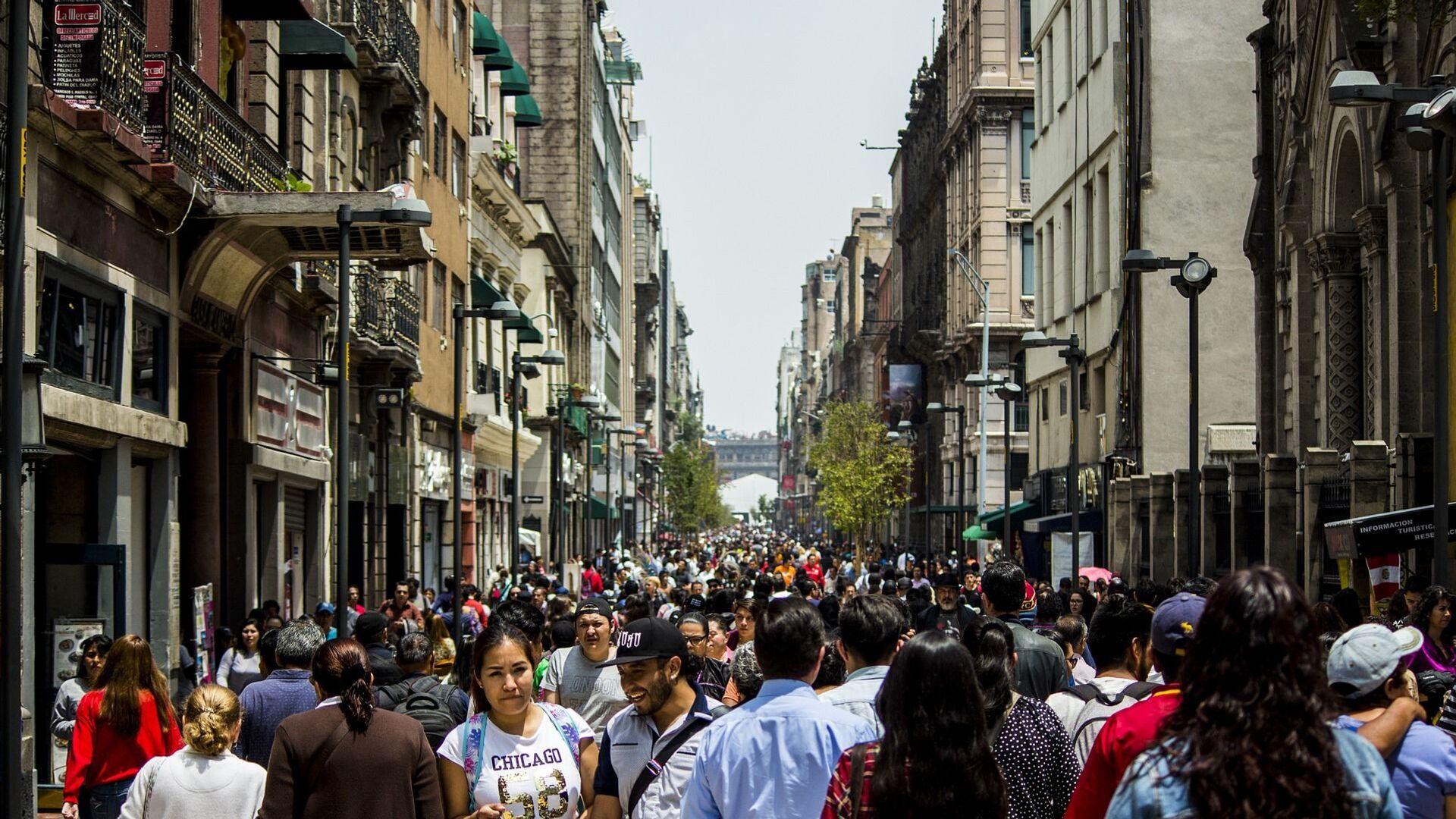 Una calle en Ciudad de México. Imagen referencial - Sputnik Mundo, 1920, 13.02.2021