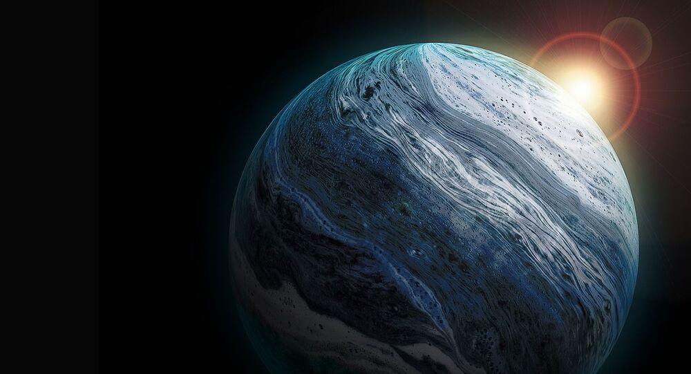 Urano, imagen referencial