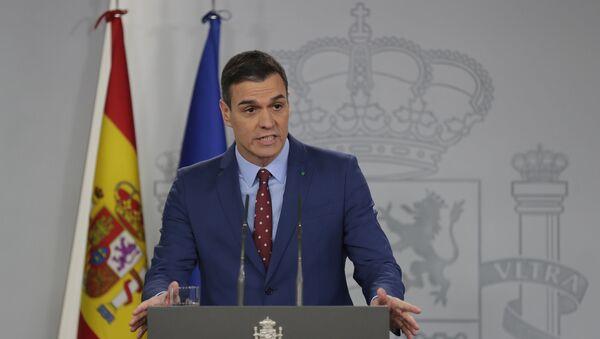 Pedro Sánchez - Sputnik Mundo