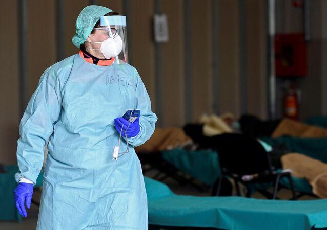 Una médica (imagen referencial)