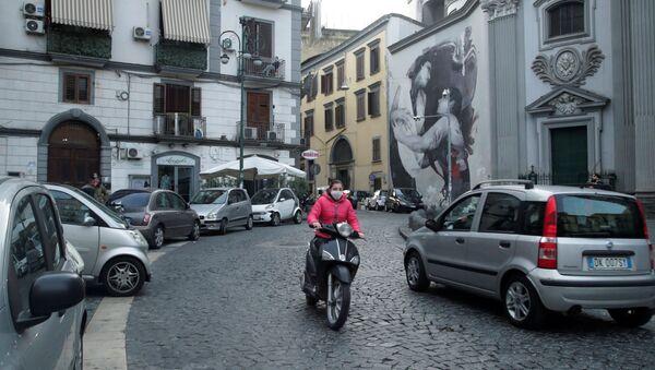 Situación en Nápoles, Italia - Sputnik Mundo