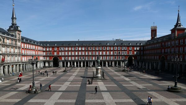 Plaza Mayor, Madrid, España - Sputnik Mundo