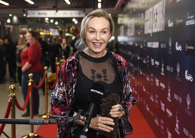 Natalia Andréichenko, la famosa actriz rusa