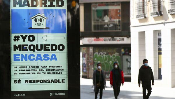 Medidas contra la propagación del coronavirus en España - Sputnik Mundo