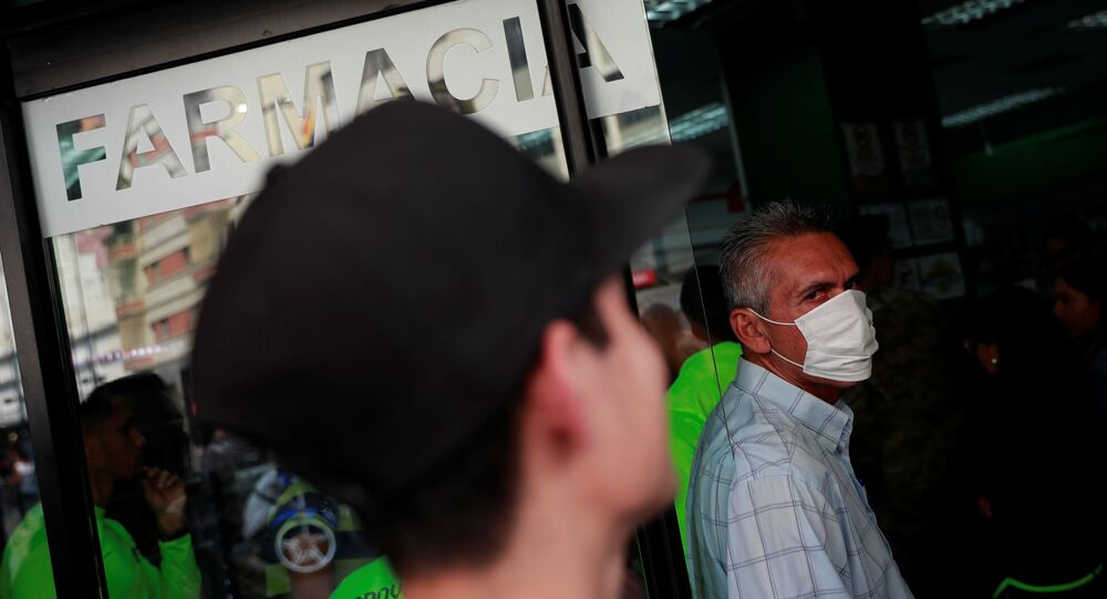 Propagación de coronavirus en Venezuela