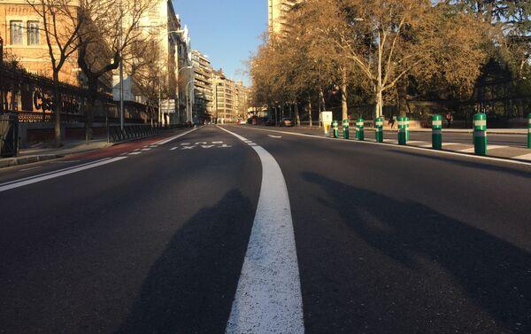 Madrid sin gente  - Sputnik Mundo