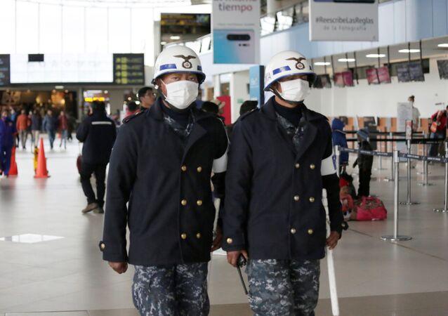 Aeropuerto en Bolivia