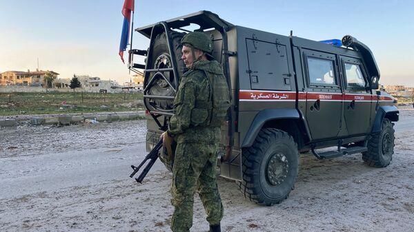 Patrullaje ruso-turco en Idlib - Sputnik Mundo
