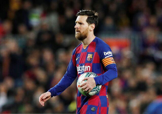 Lionel Messi, capitán del Barcelona