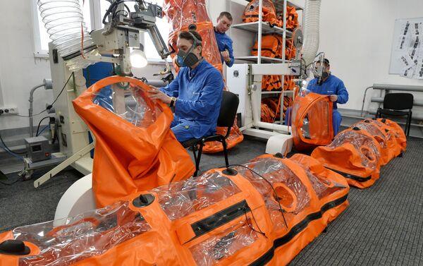 Proceso de producción de las cápsulas herméticas - Sputnik Mundo