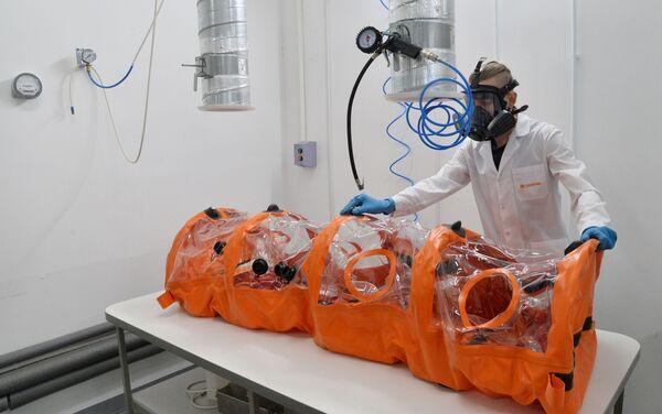Control de calidad de las cápsulas herméticas - Sputnik Mundo