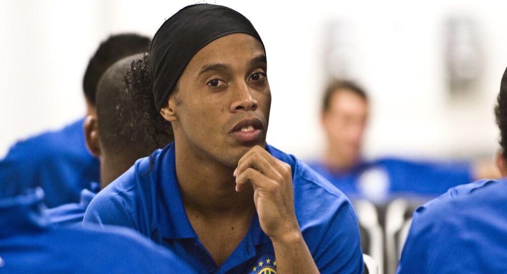 El exfutbolista brasileño Ronaldinho (archivo)