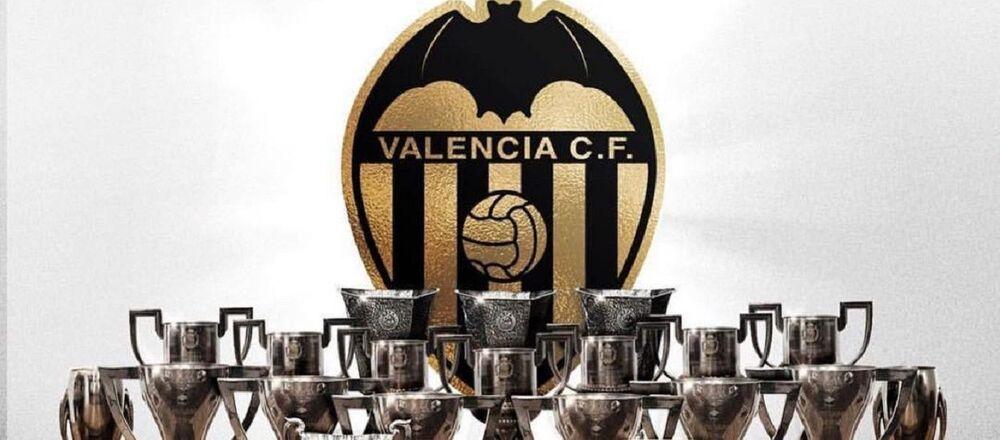 El logo del club Valencia C.F.