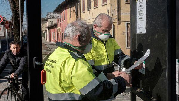 Coronavirus en Lombardía - Sputnik Mundo