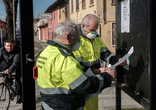 Coronavirus en Lombardía