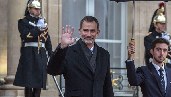 El Rey de España, Felipe VI - Sputnik Mundo