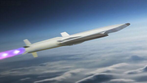 Imágen referencial de un misil hipersónico - Sputnik Mundo