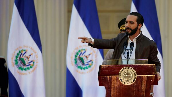 Nayib Bukele, presidente de El Salvador - Sputnik Mundo