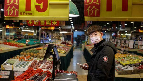 Un mercado chino - Sputnik Mundo