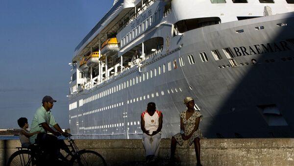 El crucero MS Braemar (archivo) - Sputnik Mundo