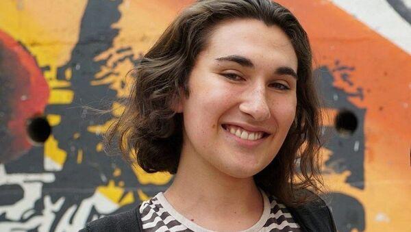 Emilia Schneider, presidenta de la Federación de Estudiantes de la Universidad de Chile - Sputnik Mundo