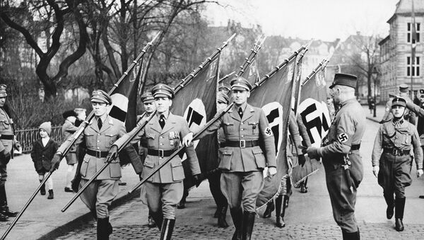 Militares nazis en 1936 - Sputnik Mundo