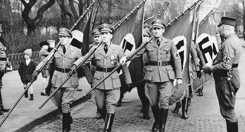 Militares nazis en 1936