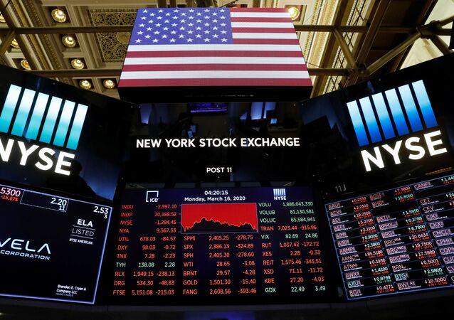 Bolsa de Nueva York, EEUU