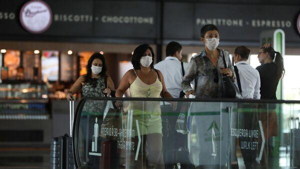 Aeropuerto de Brasilia, Brasil - Sputnik Mundo