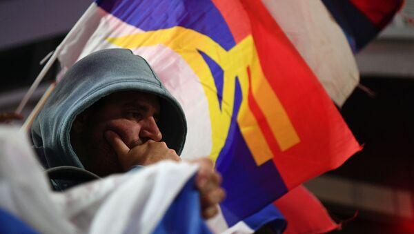 Un simpatizante del Frente Amplio de Uruguay - Sputnik Mundo