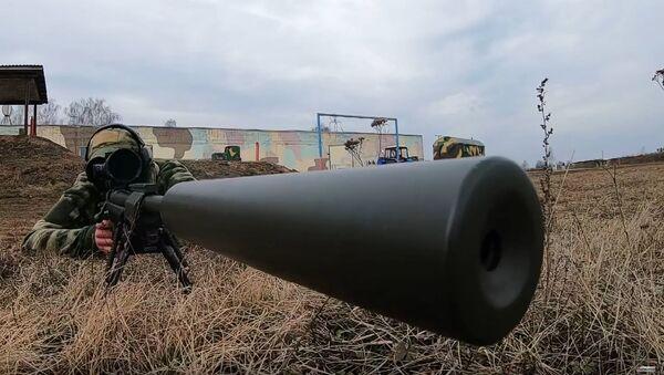 Entrenamiento de francotiradores bielorrusos - Sputnik Mundo