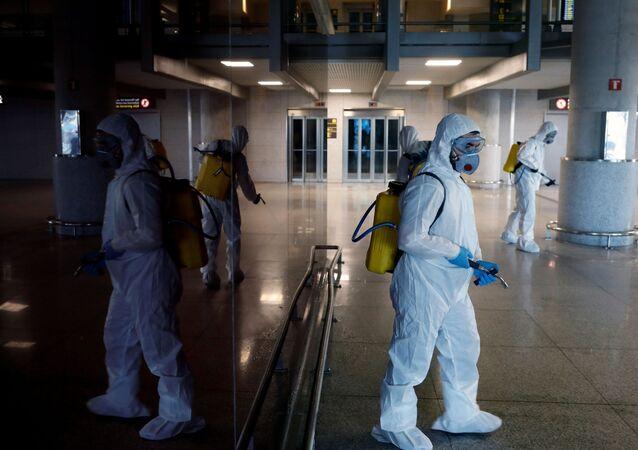 Lucha contra coronavirus en España