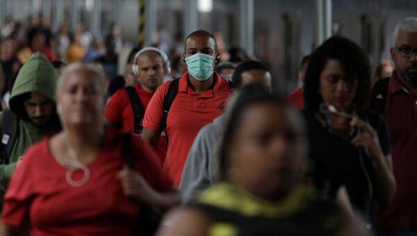 Coronavirus en Río de Janeiro, Brasil - Sputnik Mundo