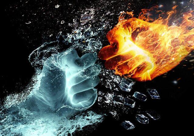 El fuego y el agua