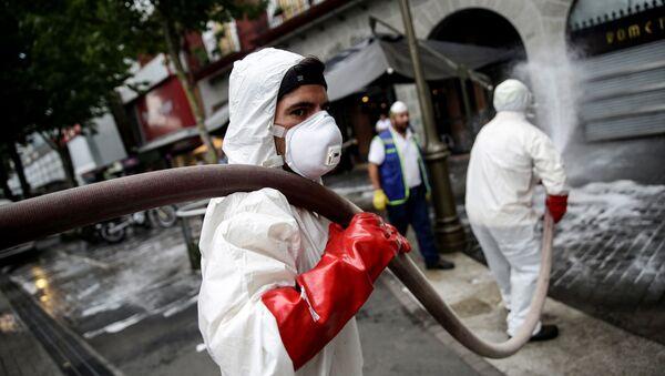 Coronavirus en Chile - Sputnik Mundo