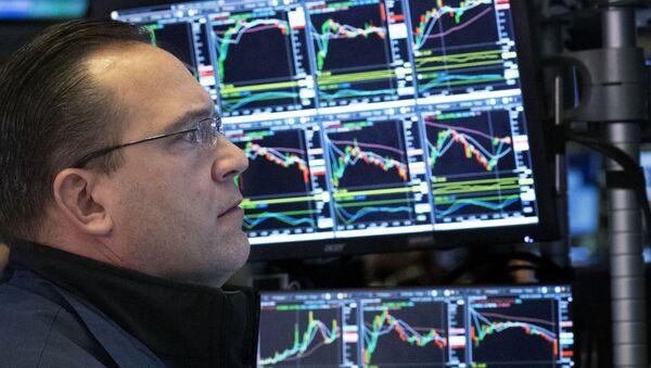 Crisis en los mercados bursátiles - Sputnik Mundo
