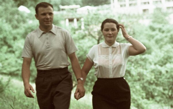 Valentina Gagárina en 1961 - Sputnik Mundo