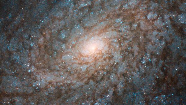 Foto muy detallada de la galaxia NGC 4237, sacada por el telescopio espacial de la NASA Hubble  - Sputnik Mundo