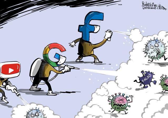 Coronavirus: los gigantes de internet se unen contra la desinformación