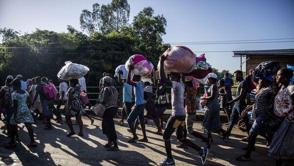 Frontera entre República Dominicana y Haití - Sputnik Mundo